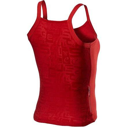 CASTELLI Promessa Jacquard Bavette Top T-Shirt Donna
