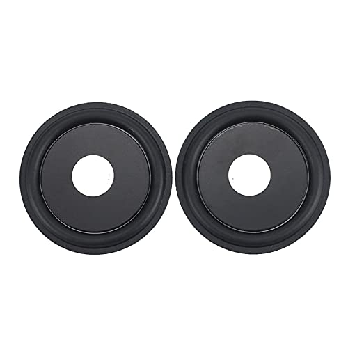 Wnuanjun 2 stücke 75mm 3 Zoll Gummi Bass Vibrationsplatte Membran Niederfrequenz Bass Kühler für Hilfs-Subwoofer DIY