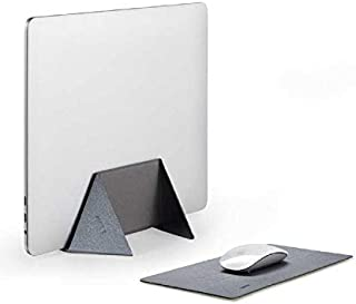 MOFT Lightweight 2-in-1 Vertical Laptop Stand & Anti-Slip Mouse Pad