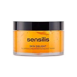Sensilis Skin Delight - Mascarilla Facial Iluminadora con Vit C, Antioxidante y Energizante - 150 ml