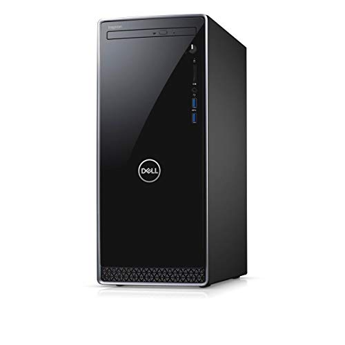 Latest_Dell Inspiron Desktop, 9th Gen Intel Core i7-9700, 12GB RAM, 256GB SSD, Wireless+Bluetooth, DVD, HDMI,Window 10