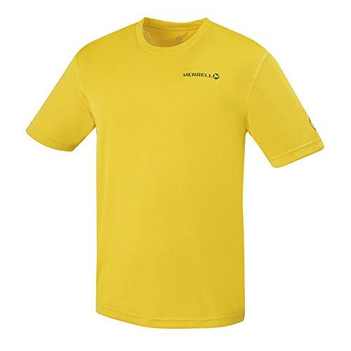Merrell T-Shirt Capra Mobility pour Homme, Taille XXL, soufre