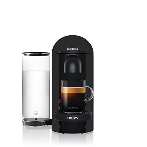 Krups - Macchina per espresso Nespresso Vertuo, colore: Nero opaco, 5 misure di tazzine 1,8 L YY3922FD