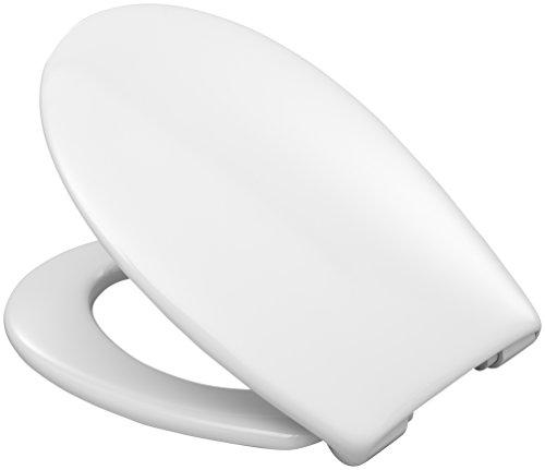 Hamberger 527655 WC-Sitz Lavas, SoftClose mit Edelstahl-FastFixmutter C2702Y weiß