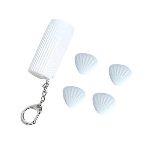 VOSAREA 4 Stücke Bettdecken Clips aus Silikon Bettdeckenhalter Bettbezug Halter mit Magnet (Blau Schale)