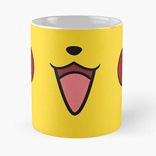 Squirtle Electric Funny Charmander Monster Pkmn Mouse Smile Taza de café con Leche 11 oz