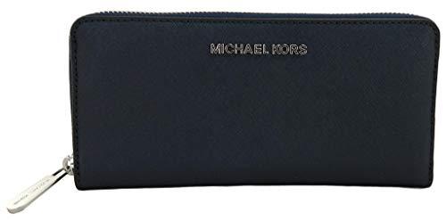 Michael Kors Jet Set Travel Brieftasche - Geldbörse - Navy/Marineblau