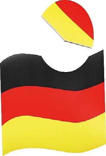 NoName 07334 vlag voor automagnet, Duitsland, zwart/rood/geel