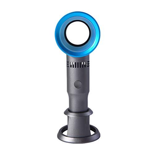Kylewo Ventilador sin aspas, Ventilador sin aspas portátil, pequeño Ventilador Recargable por USB para Exteriores/hogar/Viajes/Oficina, Modos Super Mute 3 de Velocidad del Viento