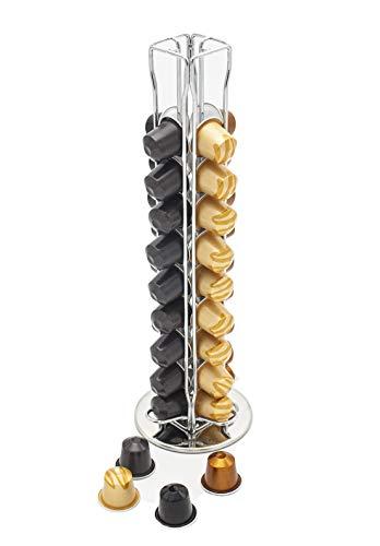 Soporte para cápsulas de café Nespresso y Dolce Gusto. Dispensador cápsulas de café. (40 CAPSULAS NESPRESSO)
