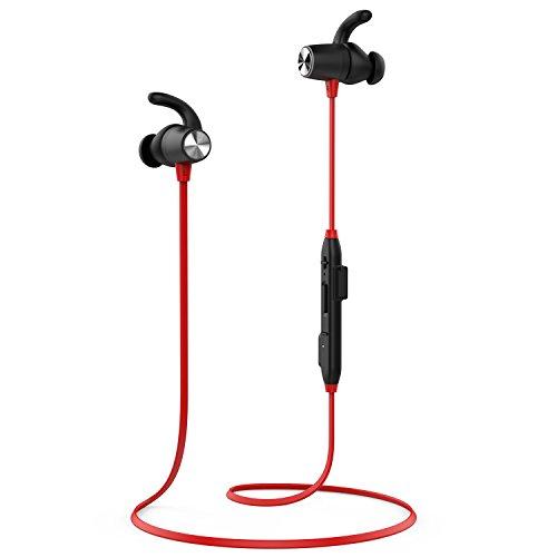 dodocool Auriculares Magnéticos In-Ear Cascos Inálambrico Deportivos, Auriculares Bluetooth 4.1 para Running (Resistentes al Sudor, micrófono, CVC 6.0 Cancelación de Ruido,MAX Duración de 8 Horas)