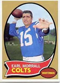 1970 Topps Football Card #88 Earl Morrall Excellent