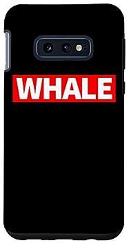 Galaxy S10e Bitcoin Whale Cryptocurrency Alt Coin Rich List Crypto Whale Case