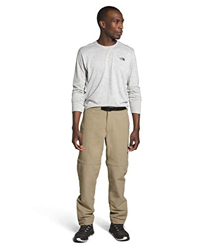 The North Face Men's Paramount Trail Convertible Pant, Twill Beige, 32, LNG