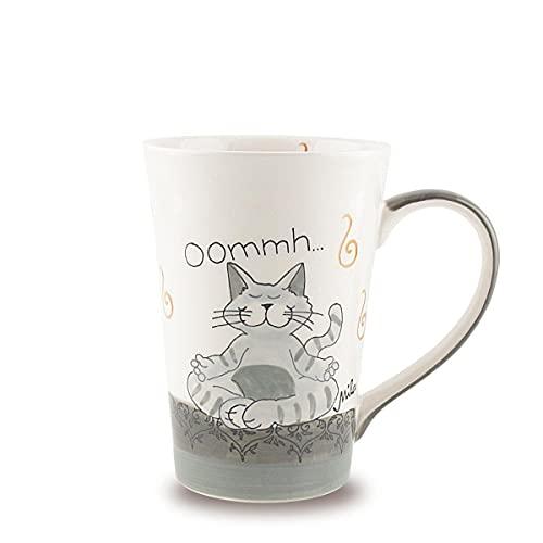 Mila Keramik-Teebecher, Oommh Katze Pure | MI-81402 | 4045303814028