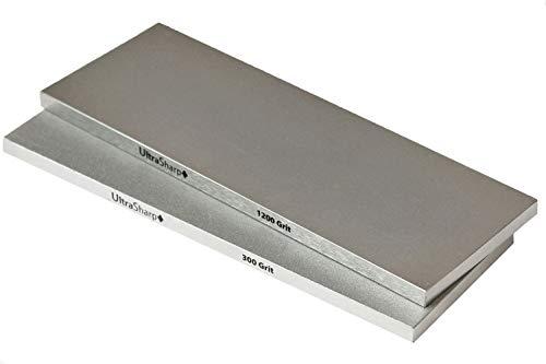 Ultra Sharp Diamond Sharpening Stone Set - Coarse/Extra Fine - 8 x 3