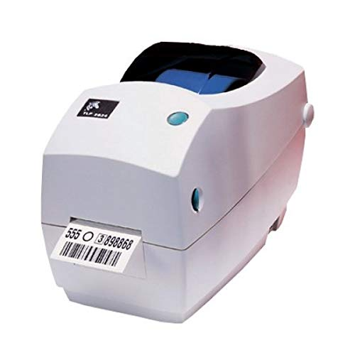 Zebra TLP 2824 Plus Drucker für Thermotransfer-Etiketten, 203 x 203 DPI, 102 mm/s, EPL, mit Kabel, 8 MB