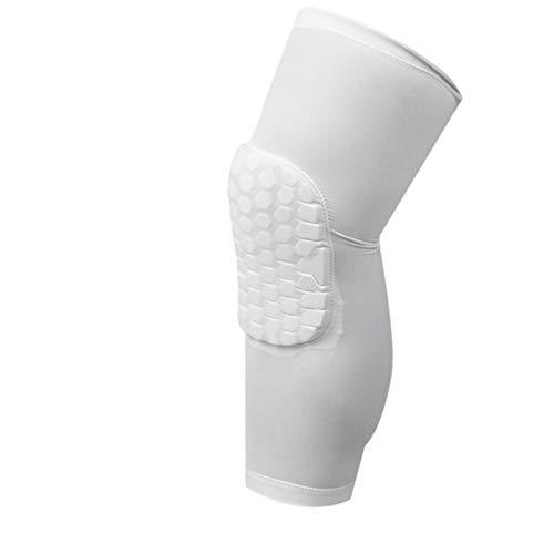 XMYNB Knieschoner Ultraleicht Elastische Atmungsaktive Kniepads Für Fußball Basketball-Volleyball-Bein Langarmschutz Sport Calf-Knie