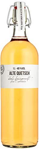 BIRKENHOF Brennerei | Alte Quetsch - feine holzfassgereifte Spirituose | (1 x 1l ) - 40 % vol.