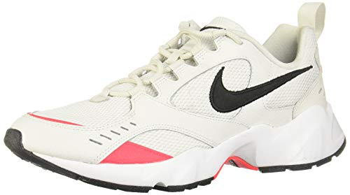 Nike Air Heights, Zapatillas de Trail Running para Hombre, Multicolor (Platinum Tint/Black-Red Orbit-White 1), 44 EU