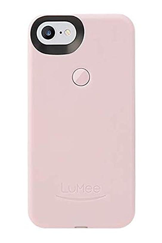 LuMee Selfie Phone Case, Ballet Pink | LED Lighting, Variable Dimmer | Shock Absorption, Bumper Case | iPhone 8 / iPhone 7 / iPhone 6s / iPhone 6