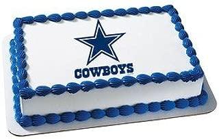 Dallas Cowboys Licensed Edible Cake Topper #4491