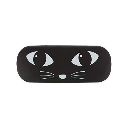 Sass & Belle 'Gafas funda Black Cat 16x 6,5x 3cm