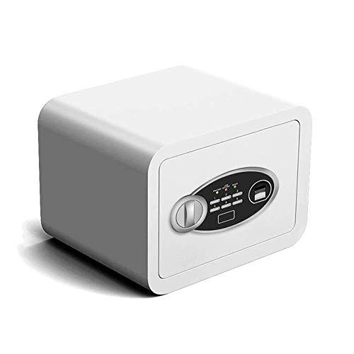 CMmin Caja de seguridad digital-electrónica Acero Seguro, Caja de bloqueo automático con bloqueo de huellas dactilares sistema de protección contra dinero, joyas, pasaportes-residencial, comercial o d