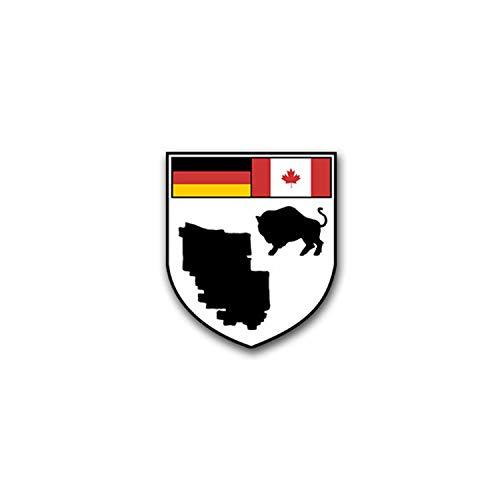 Aufkleber/Sticker CFB Shilo Canadian Forces Base Militär Stützpunkt 6x7cm A1571