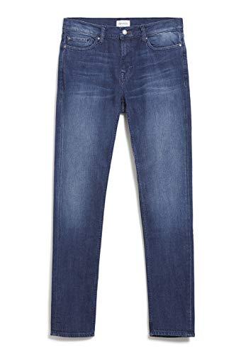 ARMEDANGELS IAAN - Herren Slim Fit Denim 31/34 Stone Wash Denim Slim Fit, Denims / 5 Pockets Slim Fit Slim Fit