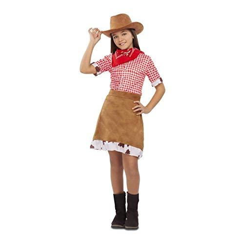 My Other Me Disfraz de Cowgirl Marrón para niña