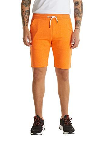 edc by ESPRIT Herren 030CC2C310 Shorts, 884/BRIGHT ORANGE 5, XS