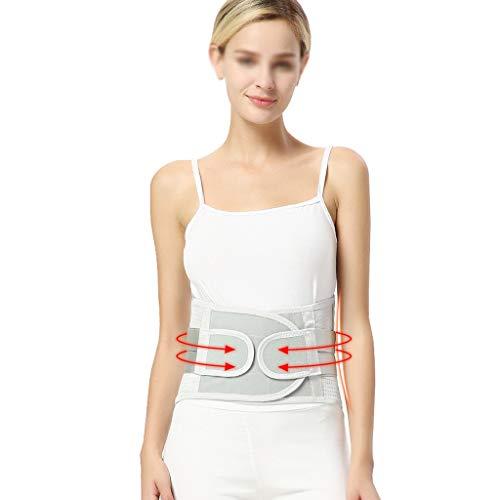 ZFF Cinturones Lumbares De Soporte Respirable Alivio For Dolor Espalda Hernia Disco Ciática Auto-Calentamiento Hombres Mujeres (Size : XL/X-Large)