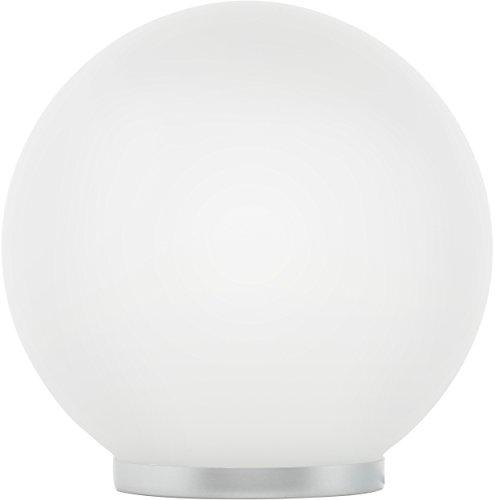 MÜLLER-LICHT LED Tischleuchte Globe RGB Plus warmweiß inklusiv Fernbedienung, Glas, 5 W, weiß, 20 x 20 x 19.8 cm