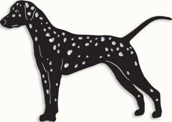 Rustica Mail order cheap Ornamentals Dalmatian Garden Stake Choice A Memorial Dog