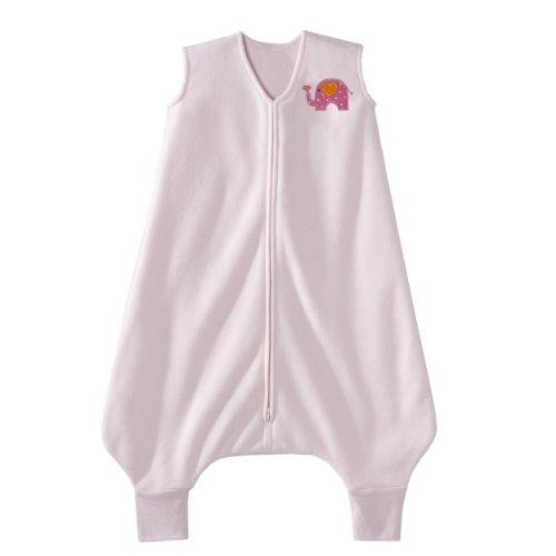 Halo Innovations Big Kids portable Fleece Blanket (4-5 ans, Pink Elephant)