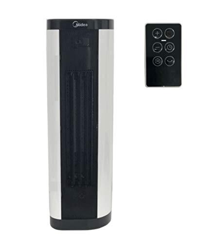 Midea NTH20-17BRW - Calefactor serie 8000 2000 W + mando a distancia, blanco