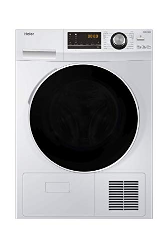 Haier HD80-A636 Freestanding Heat Pump Tumble Dryer, 8kg...