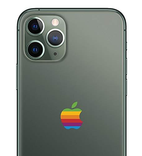 Retro Lisa Apple Rainbow Logo iPhone 11 Pro Decal Sticker for The iPhone 11 Pro Max iPhone Xs iPhone XR
