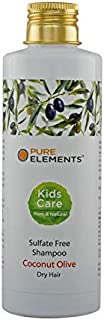 Pure Elements Kid's Natural & Sulfate Free Coconut Olive Shampoo for Dry Hair (200ml)