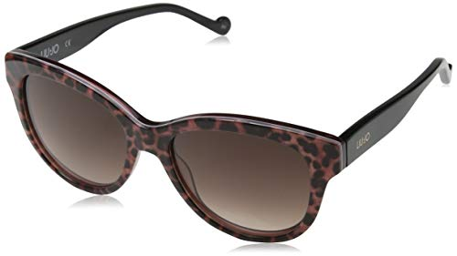 Liu Jo Lj683S 662 55 Gafas de sol, Antique Rose Animalier, Mujer
