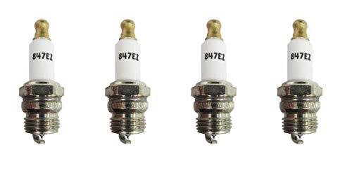 Champion 847 RDJ8J EZ Start Small Engine Spark Plug Pack of 4
