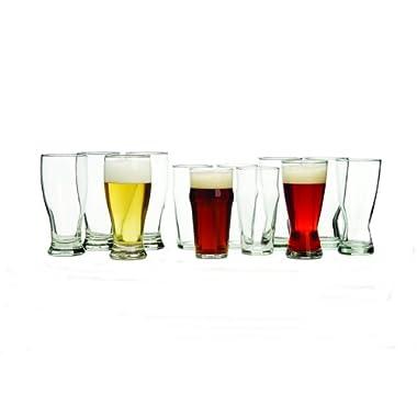 Libbey International 12-Piece Beer Glass Set
