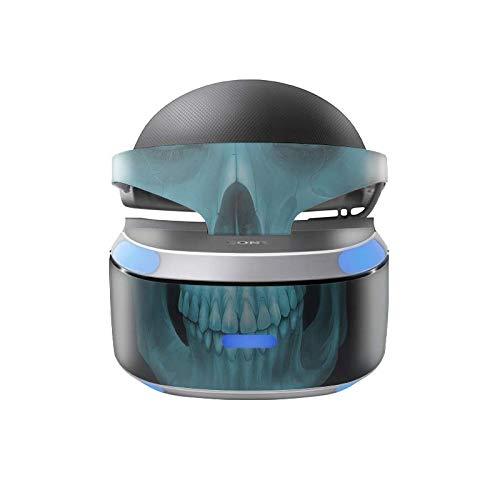 Skins4u Aufkleber Design Schutzfolie Vinyl Skin kompatibel mit Sony PS4 Playstation 4 VR Brille X-Ray