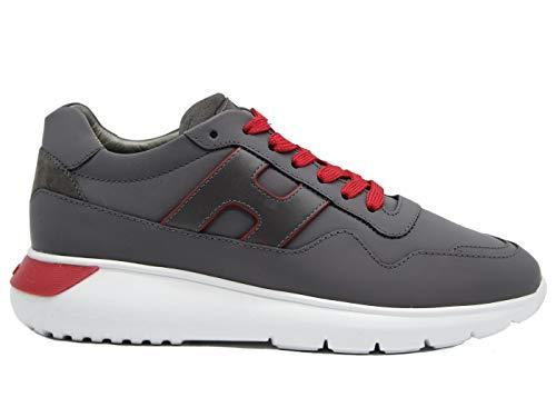 Hogan Sneaker Uomo Interactive? Grigia HXM3710AM24OBR338E 41, OBR Grigio