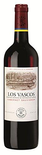 6x 0,75l - 2018er - Viña Los Vascos - Cabernet Sauvignon - Valle de Colchagua - Chile - Rotwein