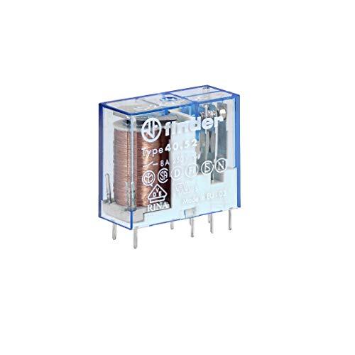 24VDC relè 8A 900R DPDT Finder 40.52.9.024.000
