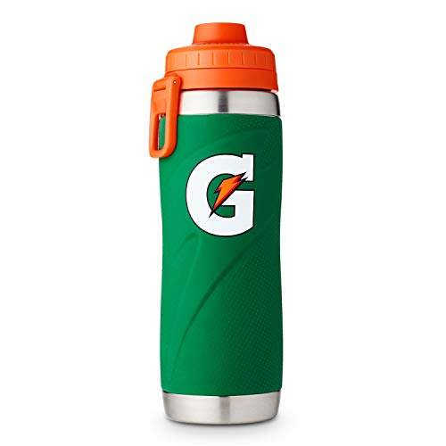 Gatorade 26oz Stainless Steel Bottle, One Size, Green