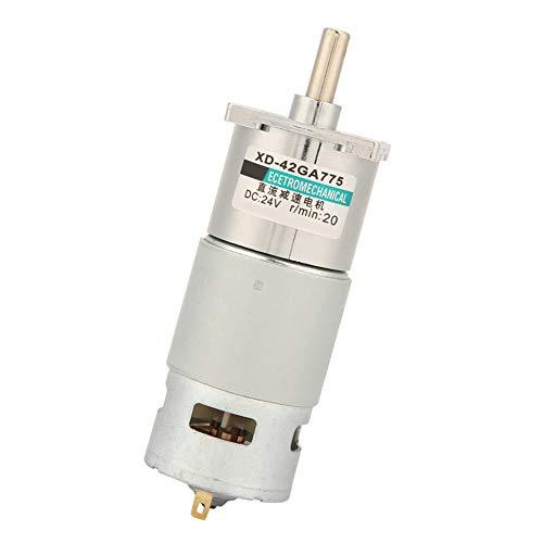 Motor De Engranajes De CC, Motor De Engranajes De 12 V / 24 V De Alta Potencia Para Amoladoras Eléctricas(20 RPM, 24 V)