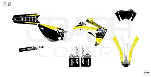 Deko-Set Motocross RIEJU MRT 50 IKE gelb